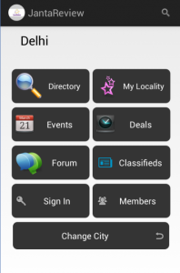 JantaReview Android App
