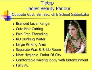 Tiptop Ladies Beauty Parlour And training Center  - Bhatinda