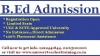 Without Entrance B.Ed Admission 2015 in delhi