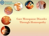 Regulate PCOD hormonal disorders with Homeopathy - Gulbarga